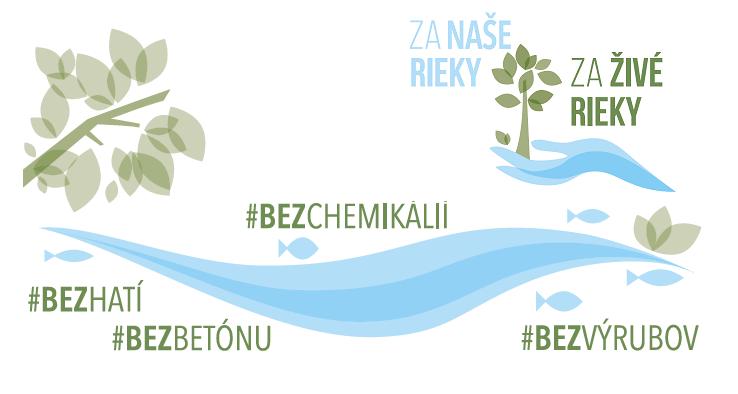"""Podporte kampaň """"Za zdravé rieky bez hatí 2020"""""""