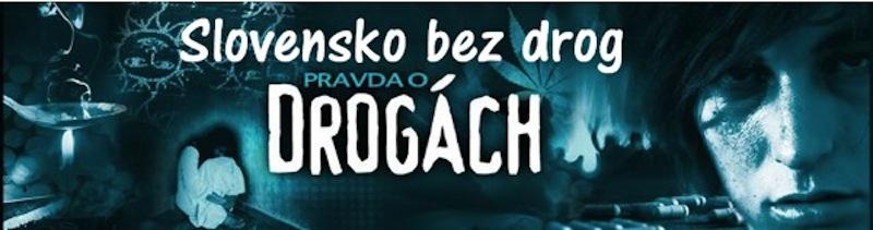 Pomôžte vytvoriť Slovensko bez drog